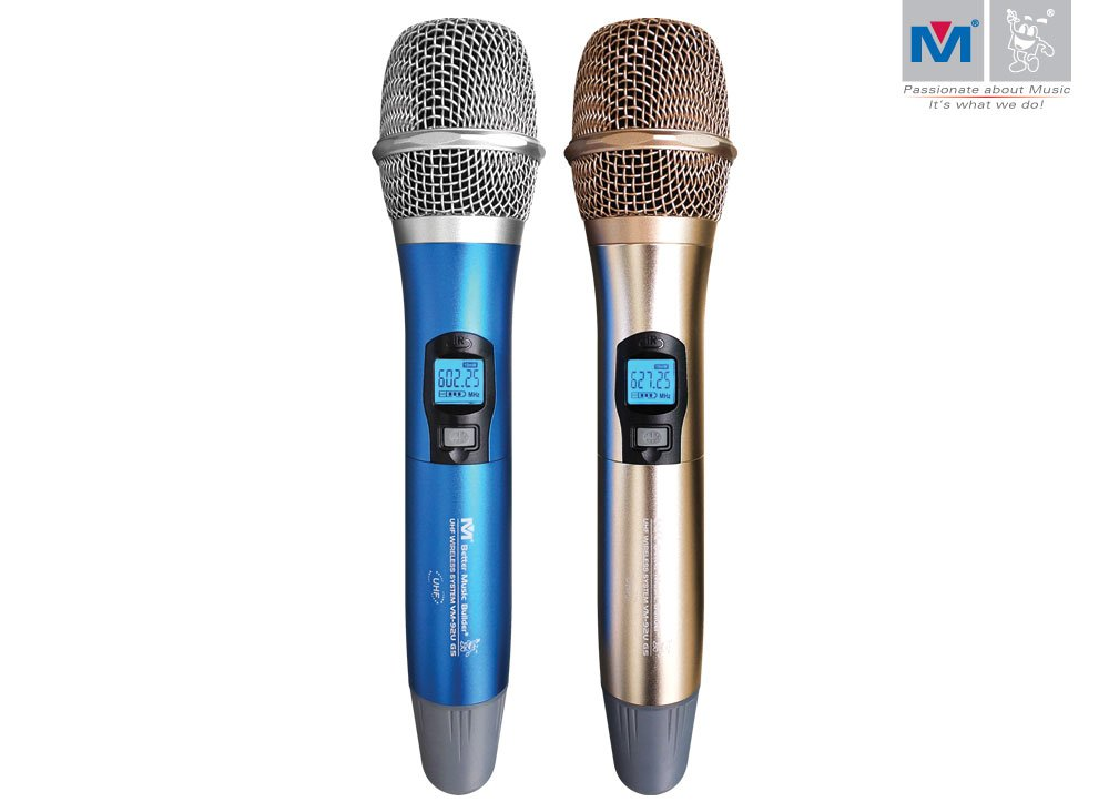 Better Music Builder VM-92U G5 Dual Channel UHF Wireless Microphone System by Better Music Builder (Image #3)