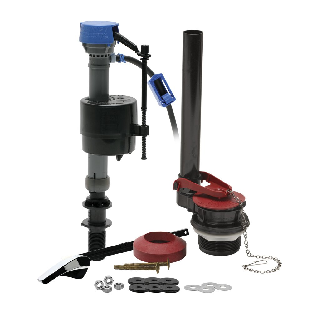 Fluidmaster 400ARHRKP10 PerforMAX Universal High Performance All-In-One Toilet Repair Kit, for 2-Inch Flush Valve Toilets by Fluidmaster