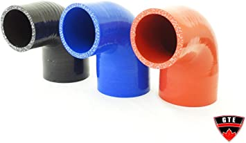 """32mm Silicone 90 Degree Intercooler Elbow Hose Black New For 1/"""" to 1.25/"""" 25mm"""