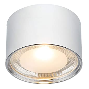 LED Design Deckenleuchte Wohn Zimmer Glas Leuchten Küchen Strahler Lampen Chrom