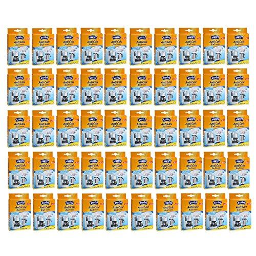 Swirl Anti Calc Tabs à entkalken de machine à café et de cuisine/de température pour appareils, 3en 1, je Pack de 50tablettes, 4x 18,5g