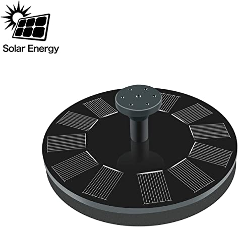 Spinning Water Mill Solar Powered Garden Patio Water Feature