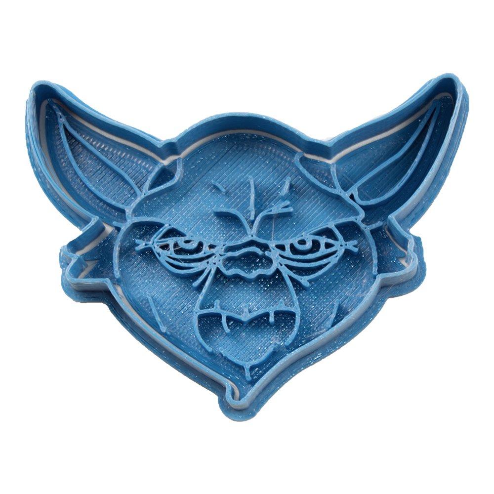 Cuticuter Star Wars Yoda Cortador de Galletas, Azul, 8x7x1.5 cm: Amazon.es: Hogar