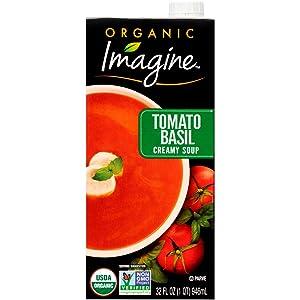 Imagine Organic Creamy Soup, Tomato Basil, 32 Oz