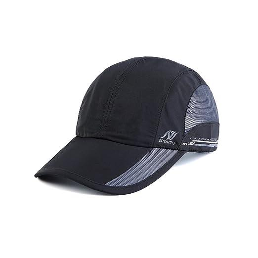 614d6e959 Men's Quick Dry Hats Lightweight Sun Caps for Running/Golf/Baseball