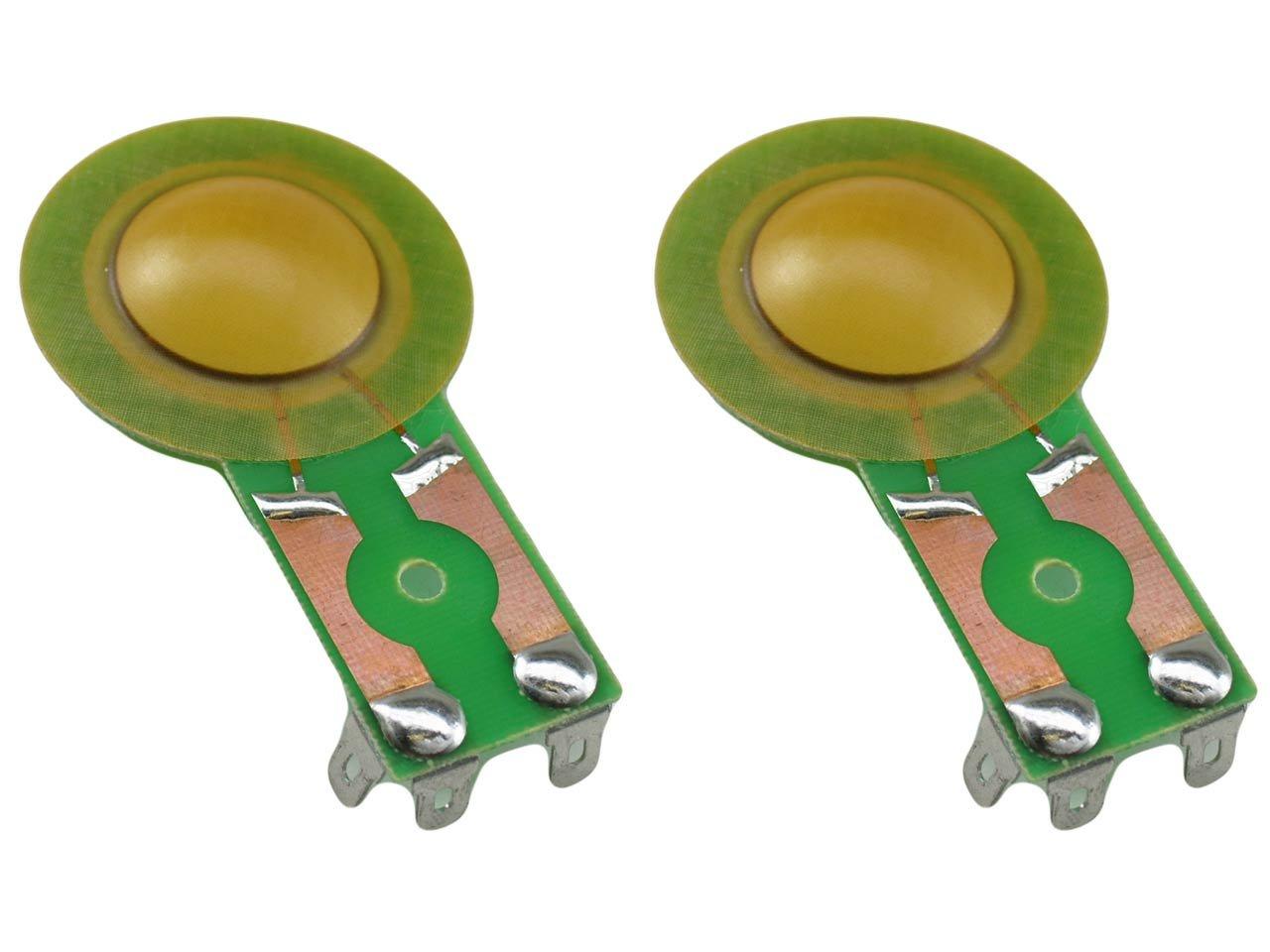 SSオーディオダイヤフラム2 - Pack for Cerwin Vegaスピーカーホーンh25、h025、n30、h027、v15、v30、v43、SW - 12、SM 15、pd18、およびその他多数   B00E9ZZAZC