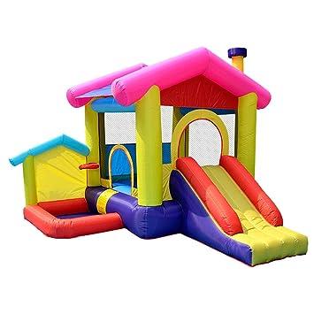 Castillo Inflable Grande para niños, Cama elástica Inflable para ...