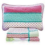 Brandream Kids Birds Butterfly Bedding Set Girls Bed Quilt Set Twin Size