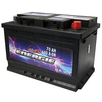 Alpin Energie 58270 Autobatterie 70 Ah 640 A Bodenleiste B13