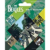 The Beatles Sticker Adhesive Decal - Abbey Road, 5 Vinyl Stickers (5 x 4 inches)
