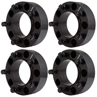 cciyu 4PCS 2 inch Wheel spacers hubcentric 50mm 5x150mm to 5x150mm 14x1.5 Studs Hubcentric Wheel Spacers Compatible with 2008-2016 Lexus LX570 2008-2016 Toyota Sequoia: Automotive