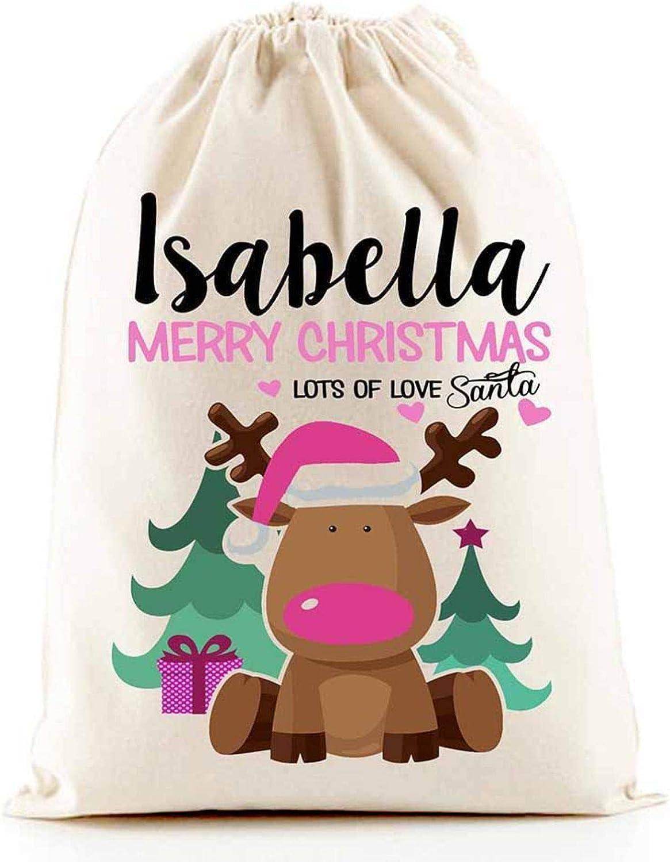 Santa sacks customized name