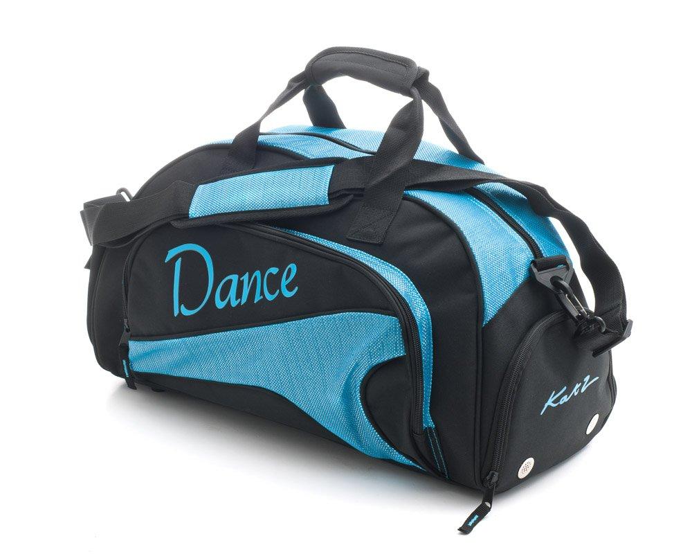 Katz Dancewear Girls Ladies Sparkly Sky Blue Dance Ballet Tap Kit Holdall Sports Bag KB89
