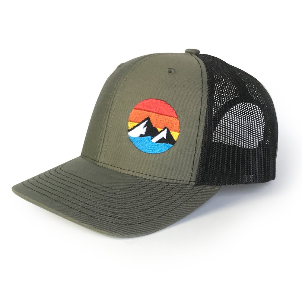 More Colors WUE Explore The Outdoors Trucker Hat