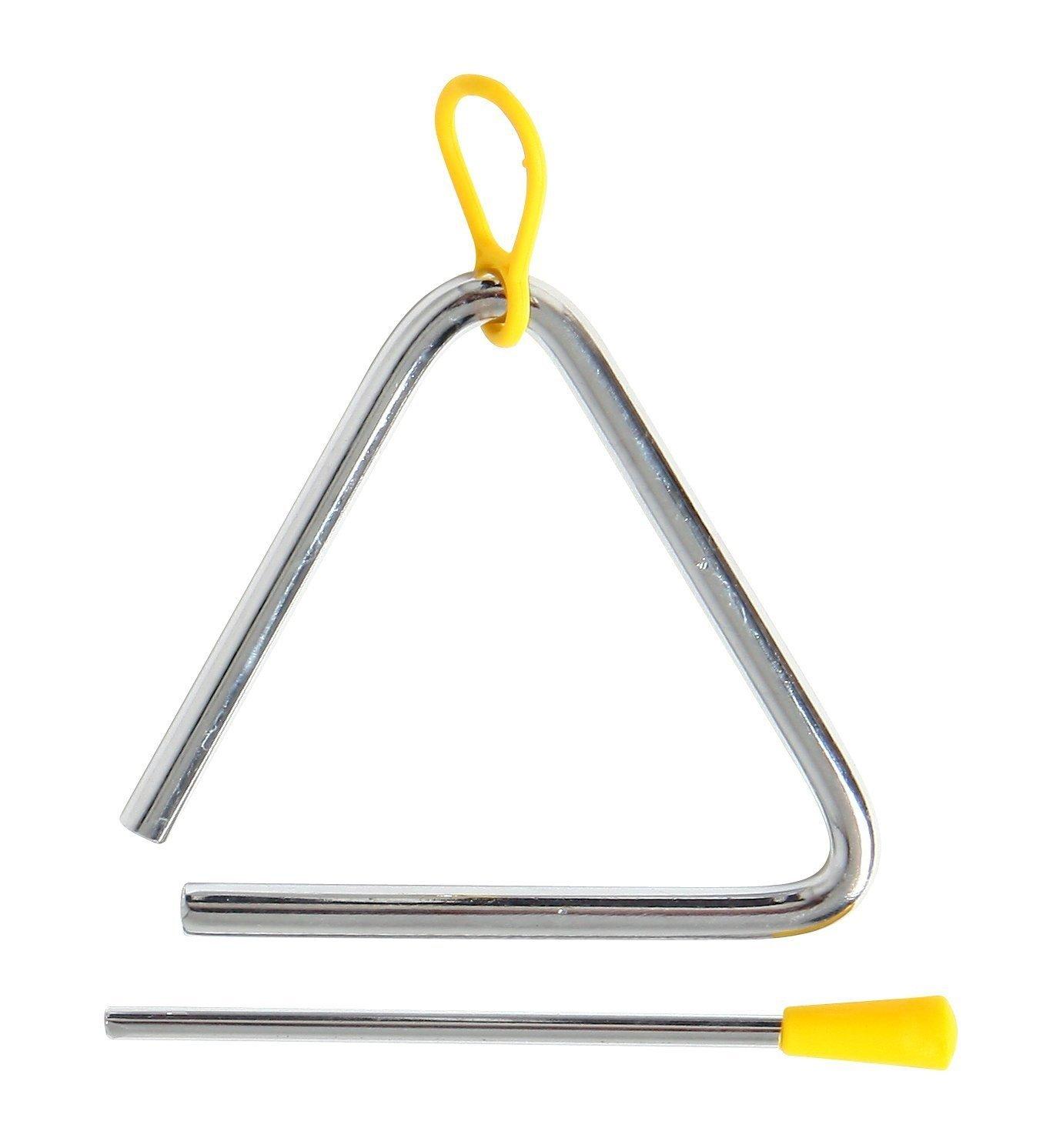 Wicemoon enfants Instruments de musique Percusion Instrument musicales Triangle musical, musique Triangle Triangle de percussion Instrument de musique
