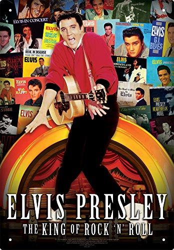 s Tin Sign (Elvis Tin)