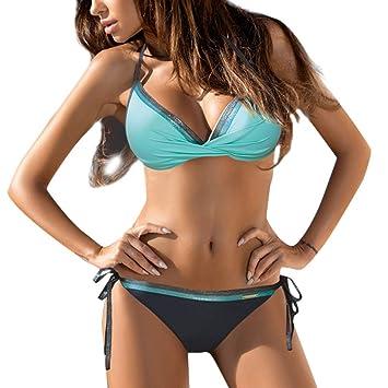 9f2e48c3e86 Amazon.com  Clearance Sale!Women Push-Up Tankini