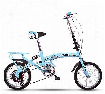 Brothers HouseYX Bicicleta Plegable para Hombres y Mujeres ...