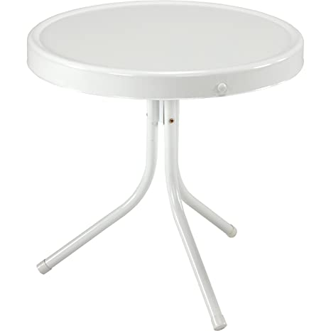 Jack Post BH 2W Retro Table, 20 1/2 By 20