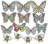 Rainbow Symphony Suncatcher - Butterfly Decals | Rainbow Window Decals