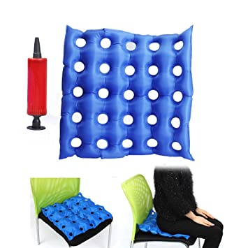 Amazon.com: Cojín de asiento hinchable de aire Premium ...