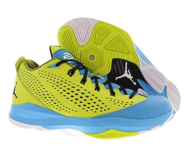 8cc44c580f4 ... coupon amazon nike jordan cp3.vii mens gym red dark powder blue black  basketball sneakers