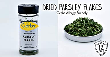 Dried Perejil Copos por gerbs – 0.40 oz. shacker Jar ...