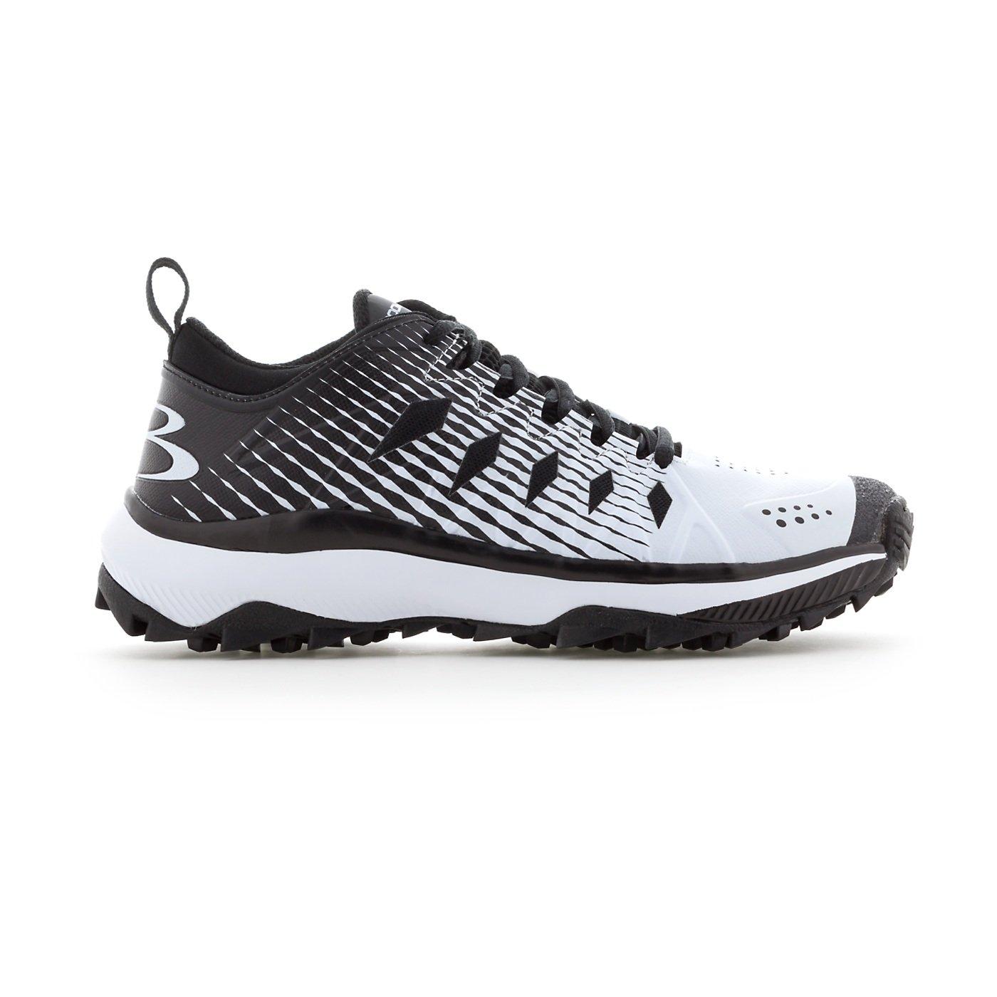 Boombah Women's Squadron Turf Shoes - 14 Color Options - Multiple Sizes B079K4DXHD 6 Black/White