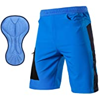 TOMSHOO Pantalones Cortos de MTB, Pantalones Cortos