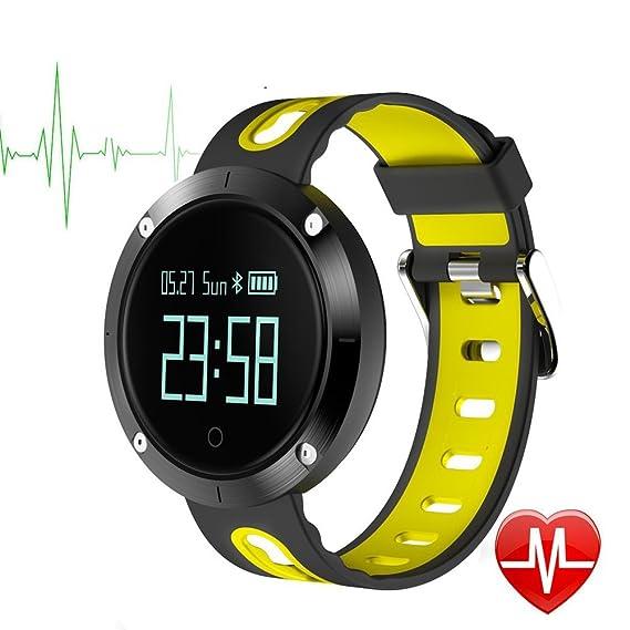 Bluetooth Smartwatch Deportivo MOREFINE Pulsera inteligente IP68 ...
