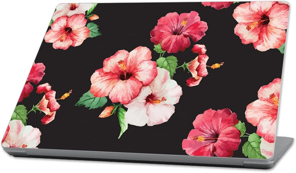 """Mightyskins Skin Compatible with Microsoft Surface Laptop (2017) 13.3"""" - Hibiscus 