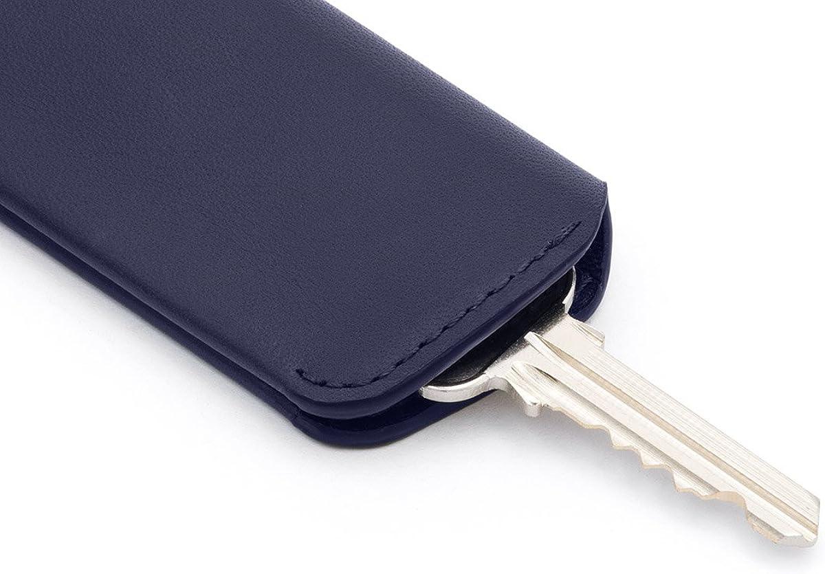 M/áx. 8 llaves Black Estuche de piel para llaves Bellroy Key Cover Plus Second Edition