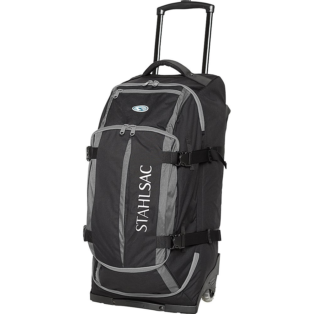 Amazon.com: Stahlsac Curacao Clipper Wheeled Dive Bag (Blue/Black): Computers & Accessories