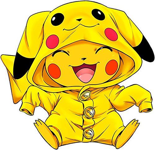 : Imbattable dans Les Concours de Cosplay Pikachu Parodie Pok/émon : Sac bandouli/ère Canvas Noir Pok/émon parodique Pikachu Cosplay/é en