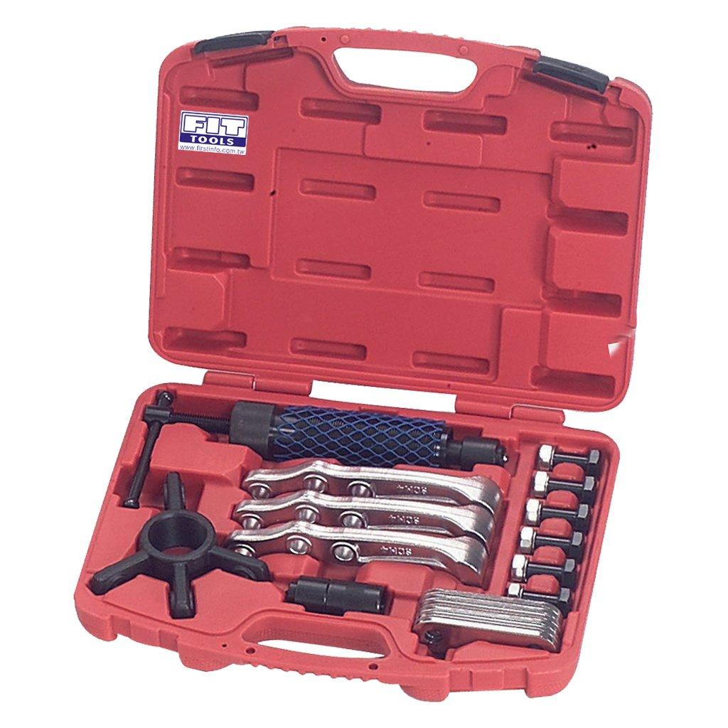 Coupe outils universel hydraulique 12 tonnes Gear 3 Mâ choires Arrache moyeu kit FIRSTINFO TOOLS Co. Ltd. F3115