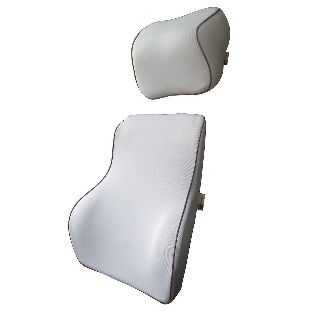 Amazon.com LoveHome Lumbar Support For Car And Headrest Neck Pillow Kit - Ergonomically Design Universal Fit Major Car Seat - Gray Automotive  sc 1 st  Amazon.com & Amazon.com: LoveHome Lumbar Support For Car And Headrest Neck Pillow ...