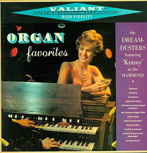 Kenny And The Dream-Dusters - Organ Favorites - Valiant - VM 4909 USA NM/NM LP