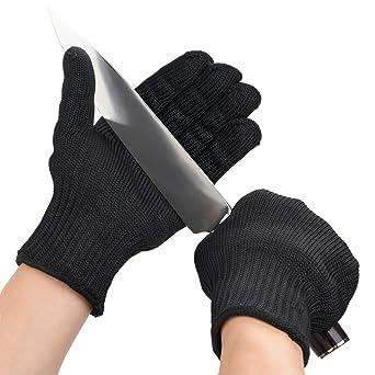 Utilit/à di Protezione per Le Mani Anti-Taglio Multiuso in Acciaio Inossidabile