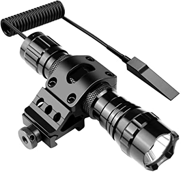 Vastfire 3800LM  XM-L T6 LED Linterna Remote Pressure Switch Mount Gun 1Mode