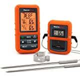 ThermoPro TP20NEW Digitales Funk-Grill-Bratenthermometer Grillthermometer Ofenthermometer BBQ Wireless Thermometer mit 2 Temperaturfühlern für BBQ, Ofen und Grills usw.