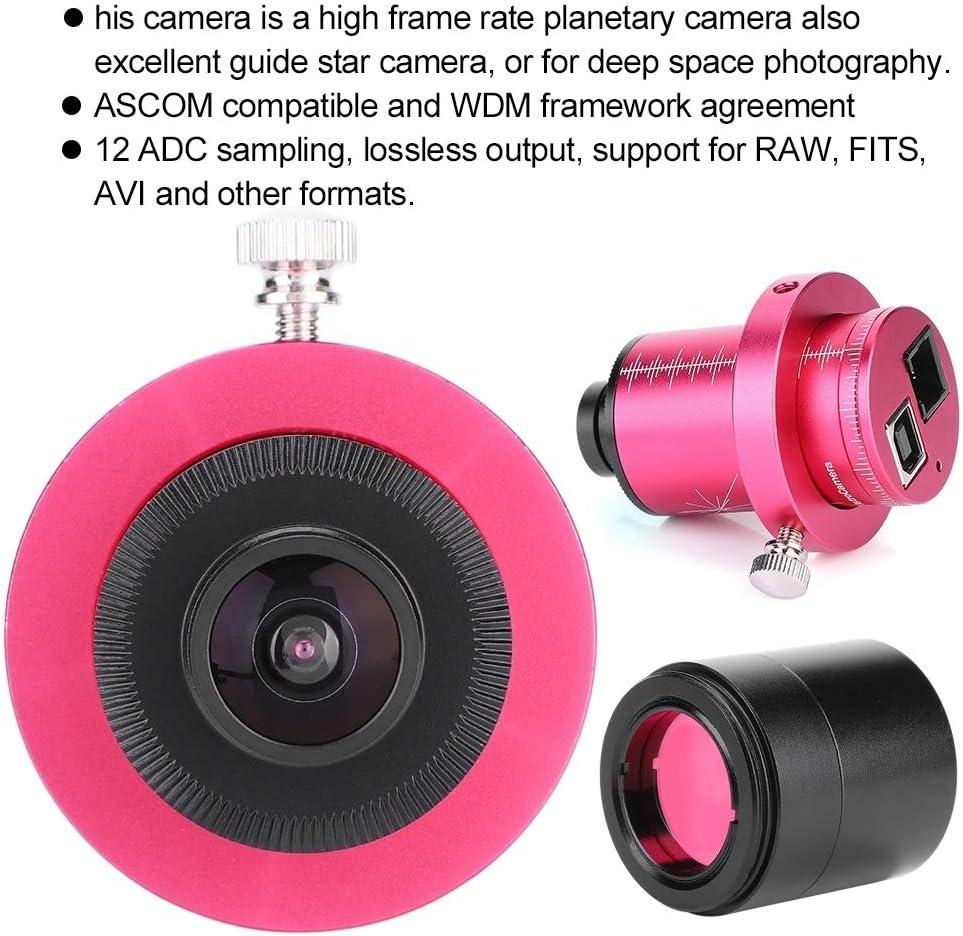 CMOS Electronic Eyepiece Camera Telescope Equatorial Instrument ST4 Guide Star