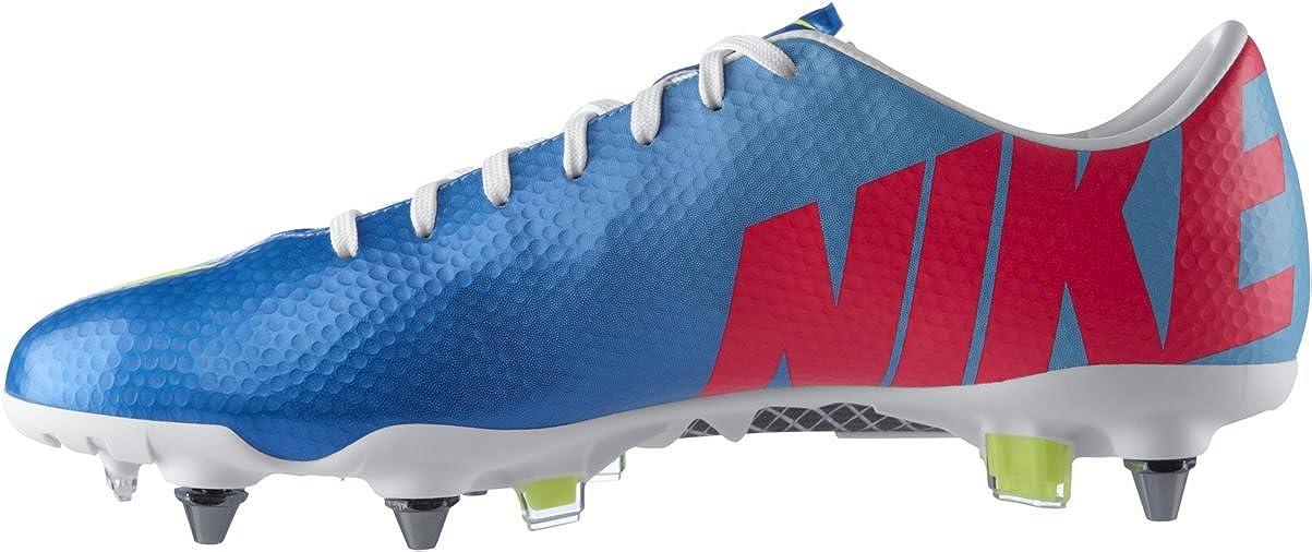 best sneakers 5a389 5ba10 Mercurial Vapor IX SG Pro Football Boots Neptune Blue Volt Pink Flash -  size 7.5  Amazon.co.uk  Shoes   Bags