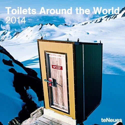 2014 Toilets Around the World Wall Calendar