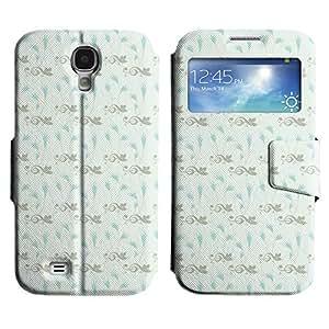 LEOCASE nota de la música Funda Carcasa Cuero Tapa Case Para Samsung Galaxy S4 I9500 No.1005529