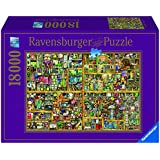 Ravensburger - Puzzle Magical Bookcase, 18000 piezas (17825 4)