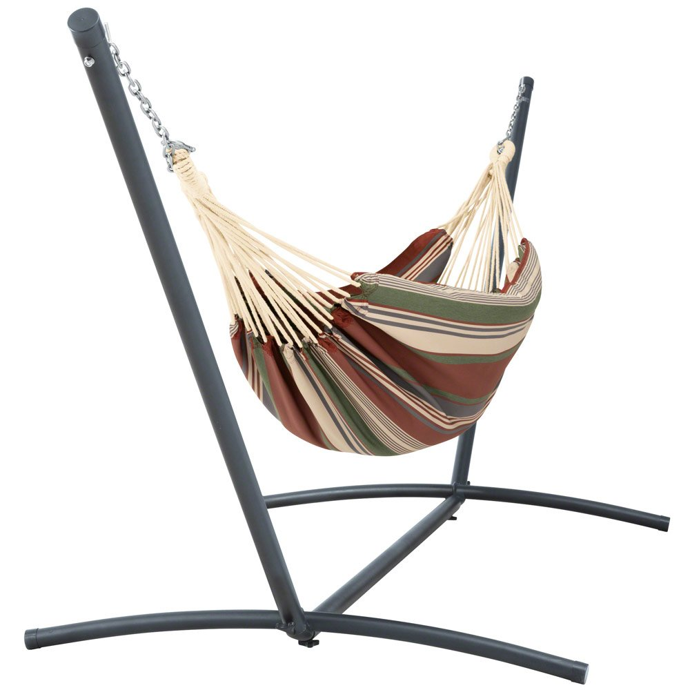 OAKVILLE FURNITURE 61106 6-Piece Outdoor Patio Furniture Rattan Sectional Sofa Conversation Set Brown Wicker, Beige Cushion