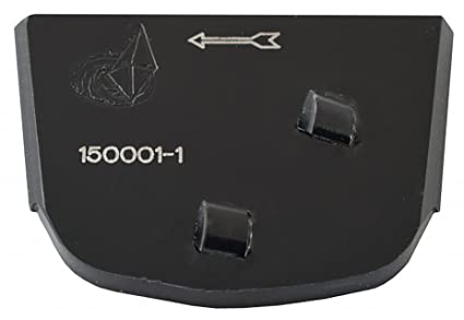 Amazon com: Lavina X-PCD Diamond Trapezoid Pad with 2 PCD