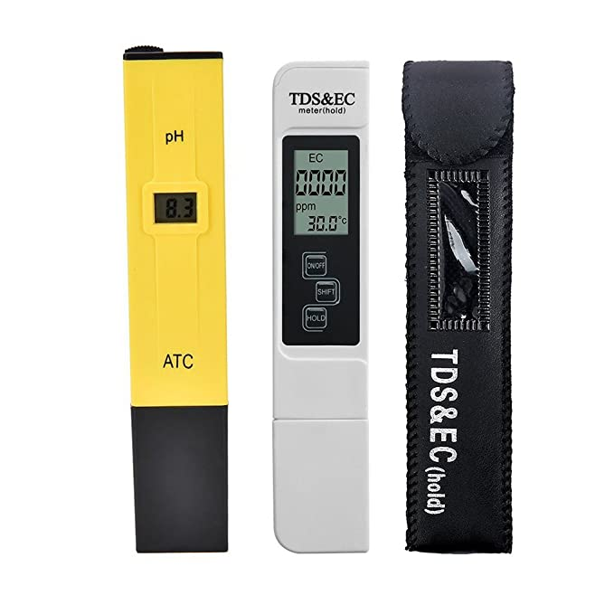 Amazon com: Beaums 2pcs/lot Digital LCD PH Meter TDS EC