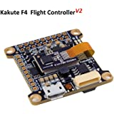 Kakute F4 Flight Controller ( V2 ) Integrated Betaflight OSD , BEC ( ICM20689 with 6-axis gyro , 120A Continuous Current , Input Voltage 7v-42v ) for PFV Racing RC Drone Quadcopter by LITEBEE
