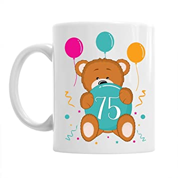 75th Birthday Gift Idea Mug For Women 1943 Coffee